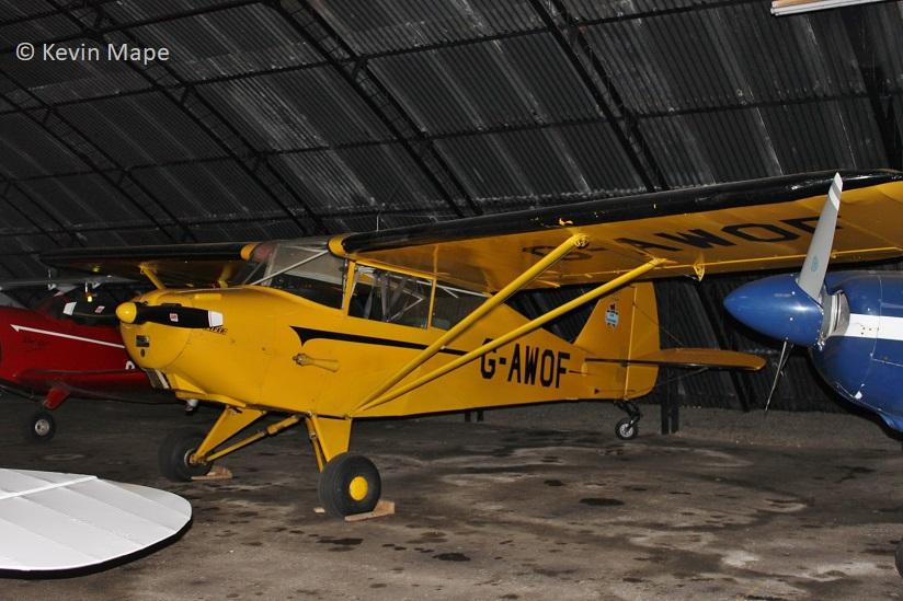 UK registered – No 12 Piper classic index – Vintage / Warbird
